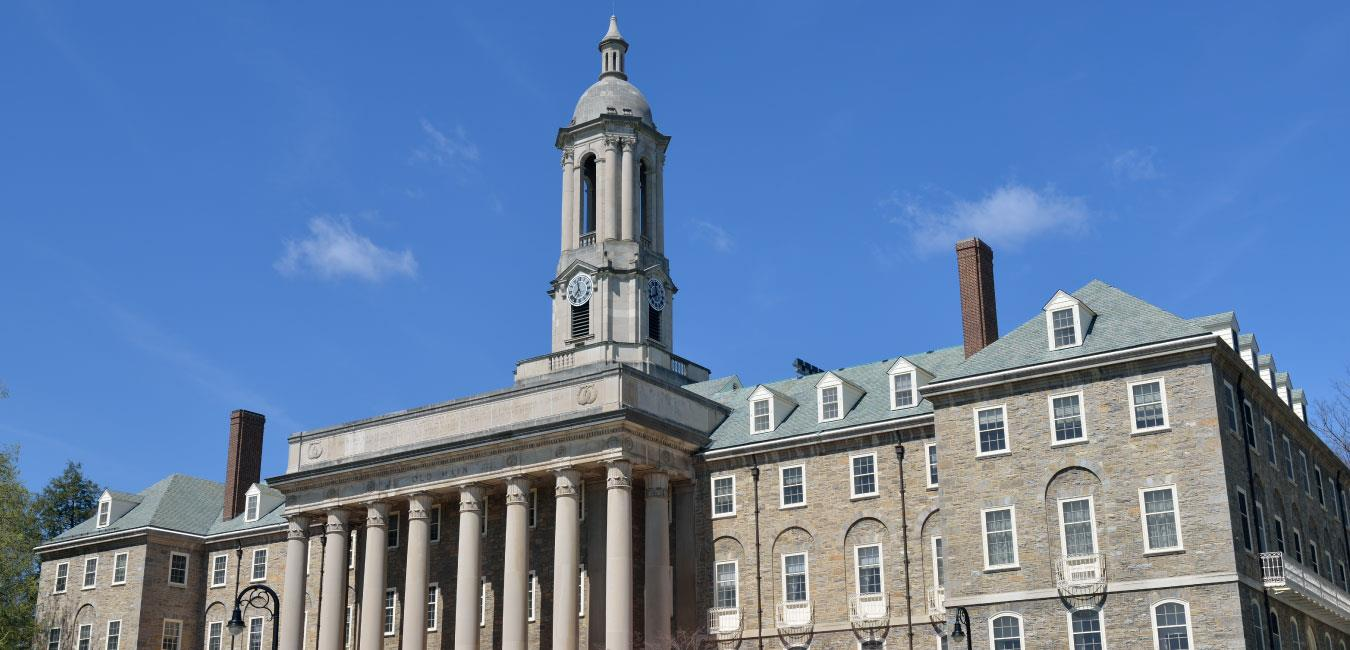 Old Main Campus in State College, Pennsylvania