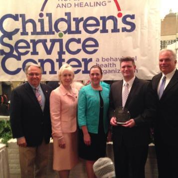 Rep. Pashinski and other legislators attend an event to recognize Sen. John Yudichak for his contributors to the Children's Service Center.