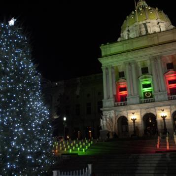 The Annual Capitol Christmas Tree Lighting Ceremony was held Thursday, December 4.
