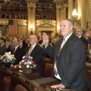 On Jan. 1, 2013, state Rep. Daniel McNeill was sworn in to his first term representing the 133rd Legislative District.
