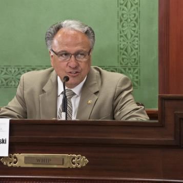 Rep. Eddie Day Pashinski partipated in a House Democratic Policy Committee hearing on Gov. Wolf's energy plan.