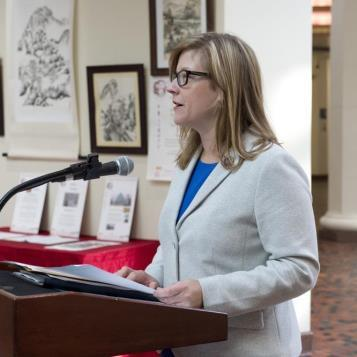 Rep. Leanne Krueger-Braneky joins Pennsylvania leaders to release a first-of-its-kind report estimating that thousands of jobs will be created in the United States by reducing methane emissions in the oil and gas industry.