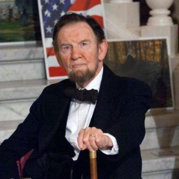Today's photo of the day features Jim Getty as Lincoln at the Civil War Ball held in the Capitol Rotunda. The ball benefits the Pennsylvania Gettysburg Monuments Project, which Rep. Readshaw founded in 1997 after reading about the deterioration of the more than 1,000 monuments in the Gettysburg National Military Park.